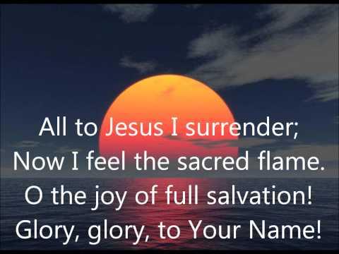 Robin Mark All To Jesus I Surrender